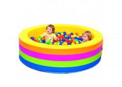 vasca palline arcobaleno