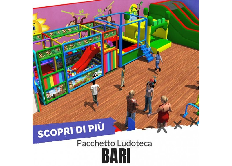Pacchetto Ludoteca Bari