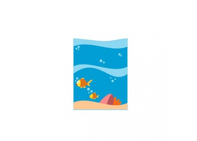 """""""Il Grande Mare"""" Pannello Decorativo 2 Pesci"""