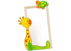 Decoro per Specchio Giraffa