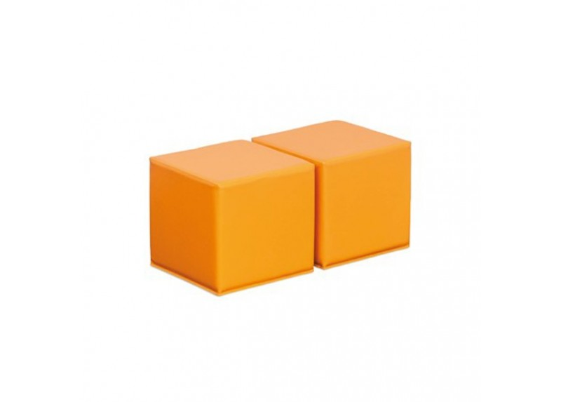 2 Pouf h 30 – Arancioni