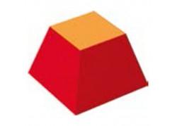 Tronco piramide bicolore