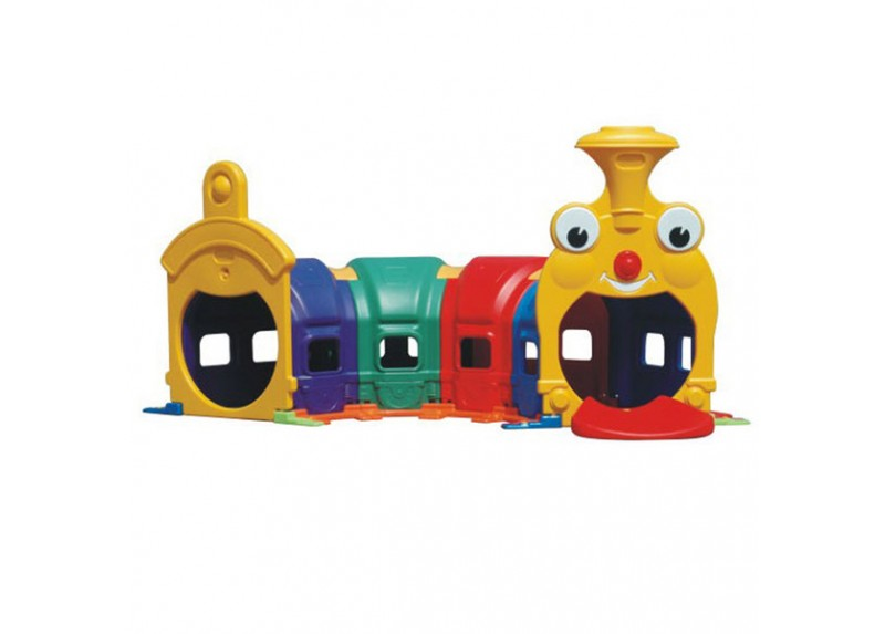trenino tunnel in plastica