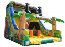 scivolo gonfiabile gorilla slide