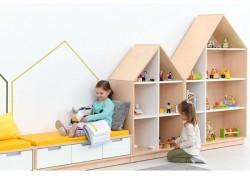 mobiletto a forma di casa