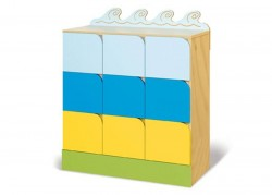 cassettiera per bambini