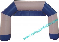 Arco White Blue in PVC