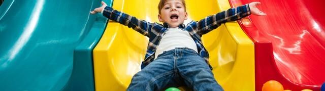 Playground per centri commerciali con scivoli e palline – Tutto Gonfiabili