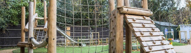 Robinia Wood Playground